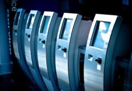 Ticket Dispenser Kiosk
