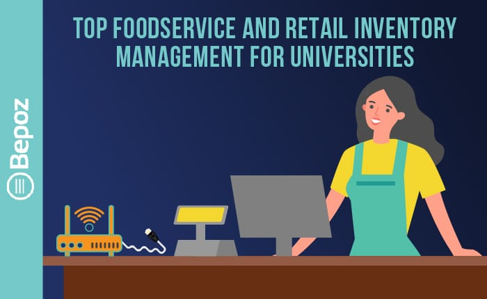 BEPOZ Top Foodservice 1 - College & University POS Videos