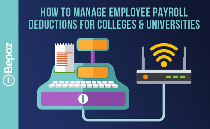 BEPOZ How to Manage Employee Payroll Deductions 2 - College & University POS Videos
