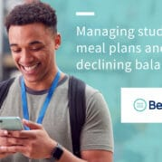 Managing student meal plans and declining balances