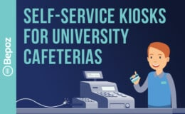 Self-Service Kiosks for University Cafeterias