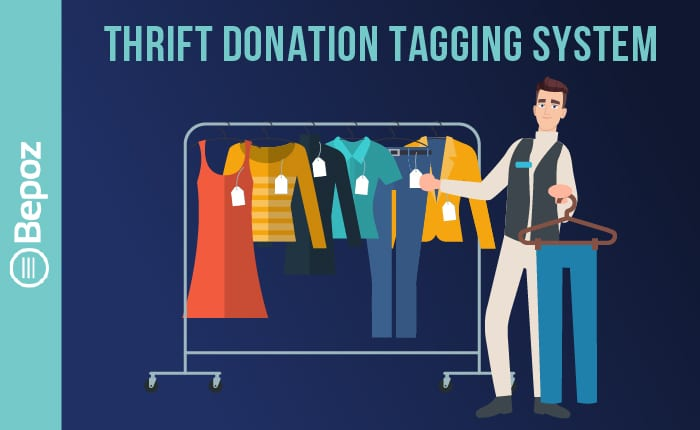 Thrift Store Donation Tagging System